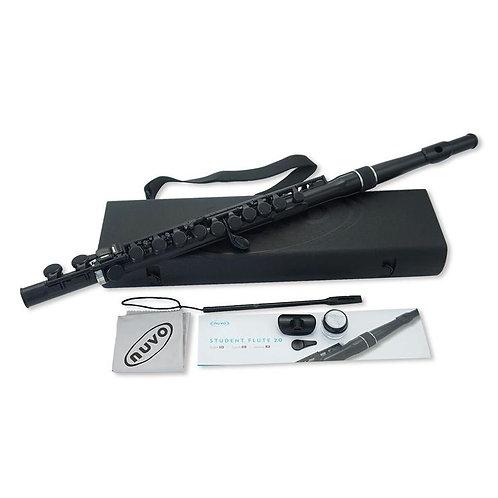 Nuvo Lightweight Student Flute - Black