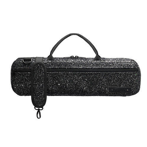 Beaumont B-Foot Flute Bag - Black Sparkle