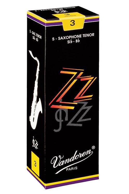 Vandoren ZZ Tenor Saxophone Reeds x5