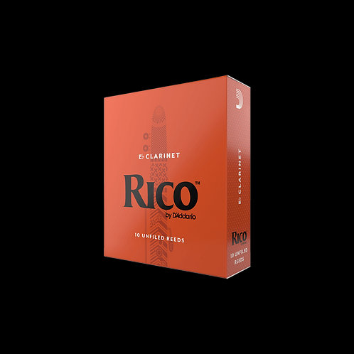 Rico Eb Clarinet Reeds x10
