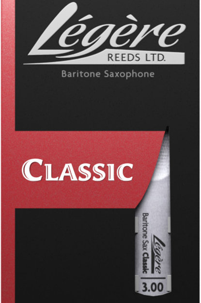 Legere Classic Synthetic Baritone Saxophone Reeds