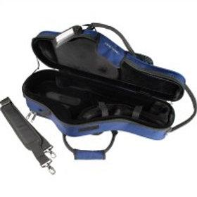 Protec Alto Saxophone ProPac Case - Contoured (Black/Blue)