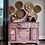 Thumbnail: DECALCOMANIA BURGUNDY ROSE GARDEN 60x88 cm