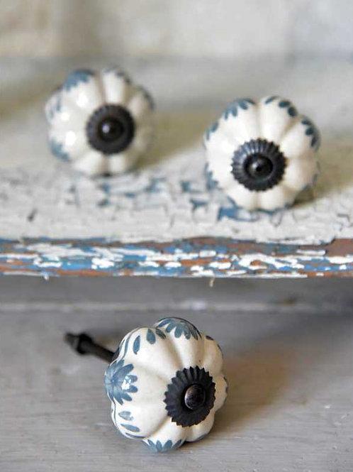 Pomello in ceramica modello Ghirlanda