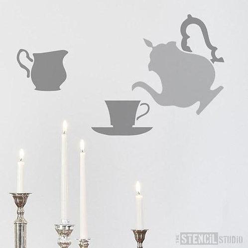 Stencil Teatime