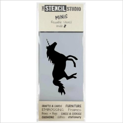 Mini Stencil Unicorn