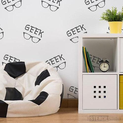 Stencil Geek Glasses