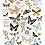 Thumbnail: DECALCOMANIA BUTTERFLY DANCE 61x89 cm