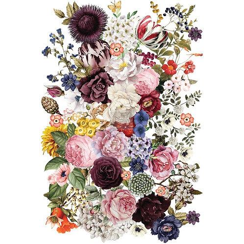 DECALCOMANIA WONDROUS FLORAL 58x86 cm