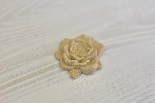 Fregio rosa pasta di legno