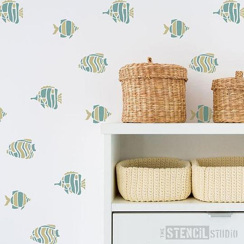 Stencil Fenfushi Fish