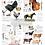 Thumbnail: DECALCOMANIA FARM LIFE 61x72 cm