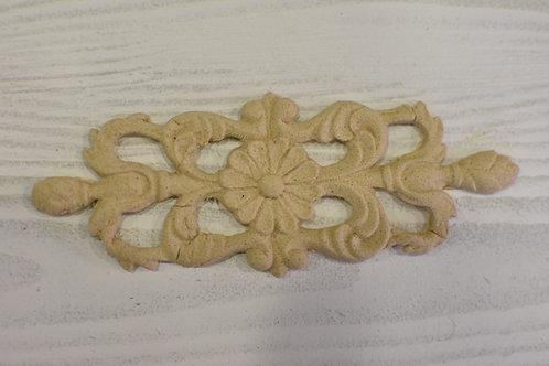 Fregio decorazione 19 pasta di legno