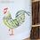 Thumbnail: Stencil Country Cockerel