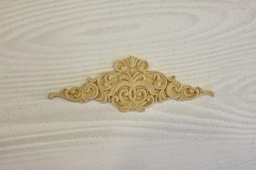 Fregio decorazione 8 pasta di legno