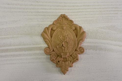 Fregio decorazione 3 pasta di legno