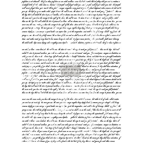 DECALCOMANIA NEVER ENDING STORY 56x76 cm