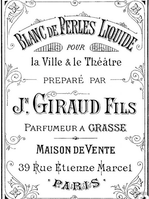 DECALCOMANIA J. GIRAUD FILS 50x69 cm