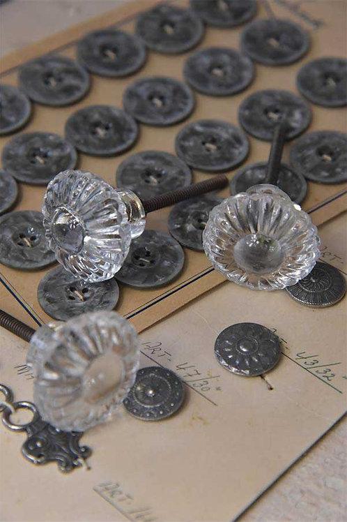 Pomello in vetro modello Fiore Cristallo