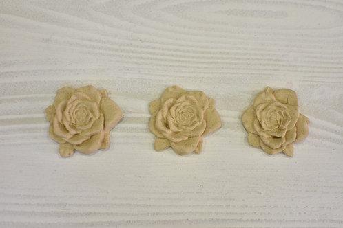 3 Fregi rosa pasta di legno