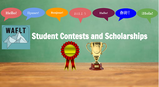 Student Contests and Scholarships WAFLT