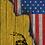 Thumbnail: American Flag/Don't Tread On Me Cornhole Boards