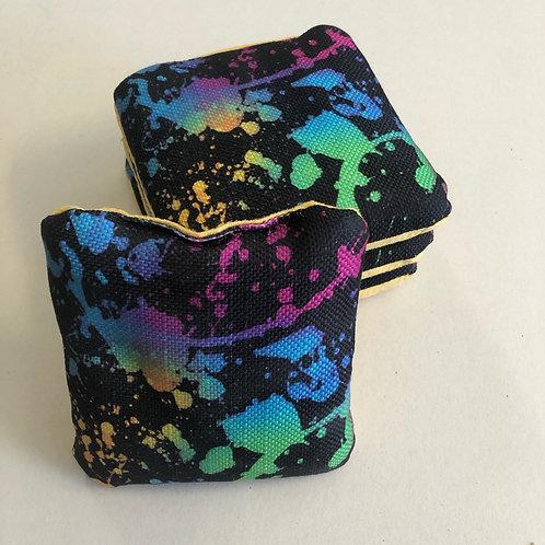 Paint Splatter Stick n Slide Style Bags