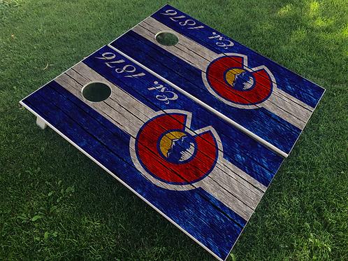 Colorado Established Cornhole Boards