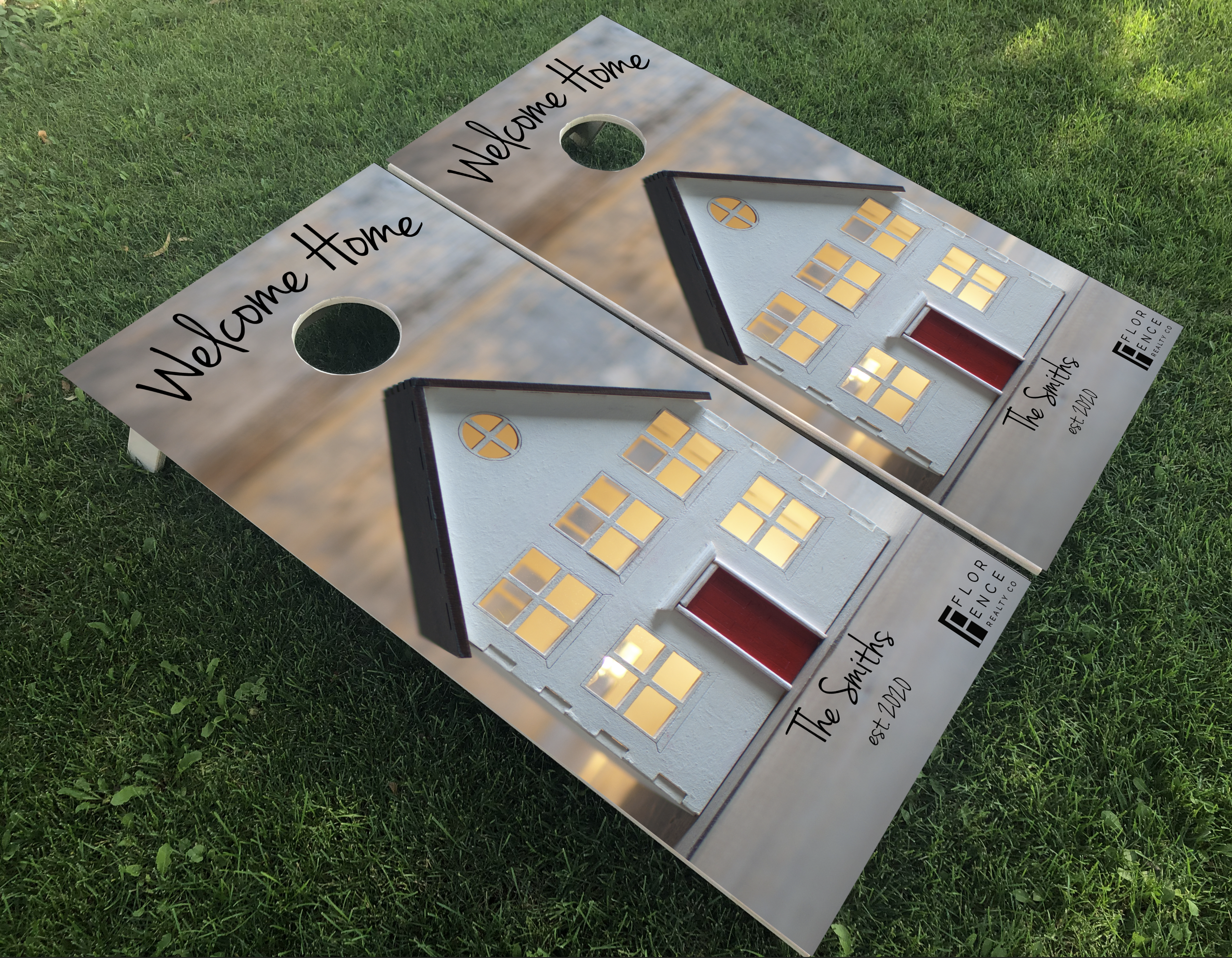 Housewarming Cornhole Boards