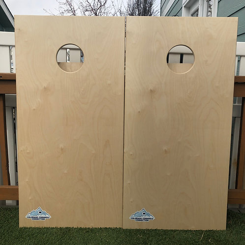 Simple and Sweet Cornhole Boards