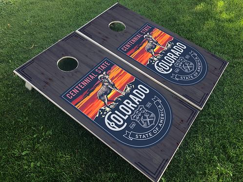 Centennial Ram Cornhole Boards