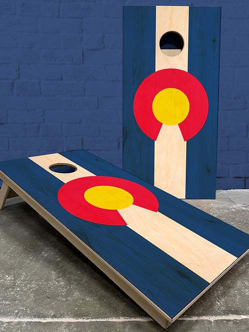 Colorado Flag Cornhole Boards