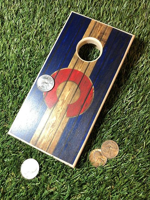 Colorado C Quarter Toss Board