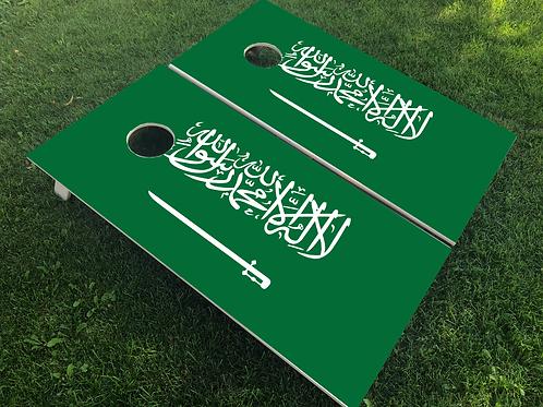 Saudi Arabia Flag Cornhole Boards