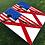Thumbnail: Alabama/American Split Flag Cornhole Boards