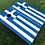 Thumbnail: Greece Flag Cornhole Boards