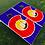 Thumbnail: Blue Big C Cornhole Boards