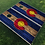 Thumbnail: Colorado C (Yellow Center) Cornhole Boards