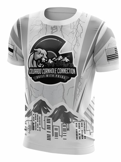 Whiteout Colorado Cornhole Connection Jersey