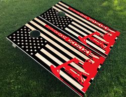 Oilfield Flag Cornhole Boards