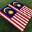 Thumbnail: Malaysia Flag Cornhole Boards