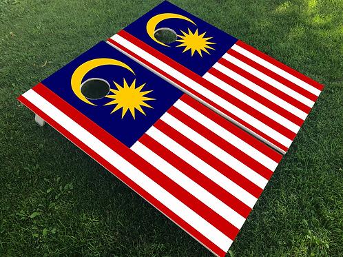 Malaysia Flag Cornhole Boards