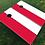 Thumbnail: Poland Flag Cornhole Boards