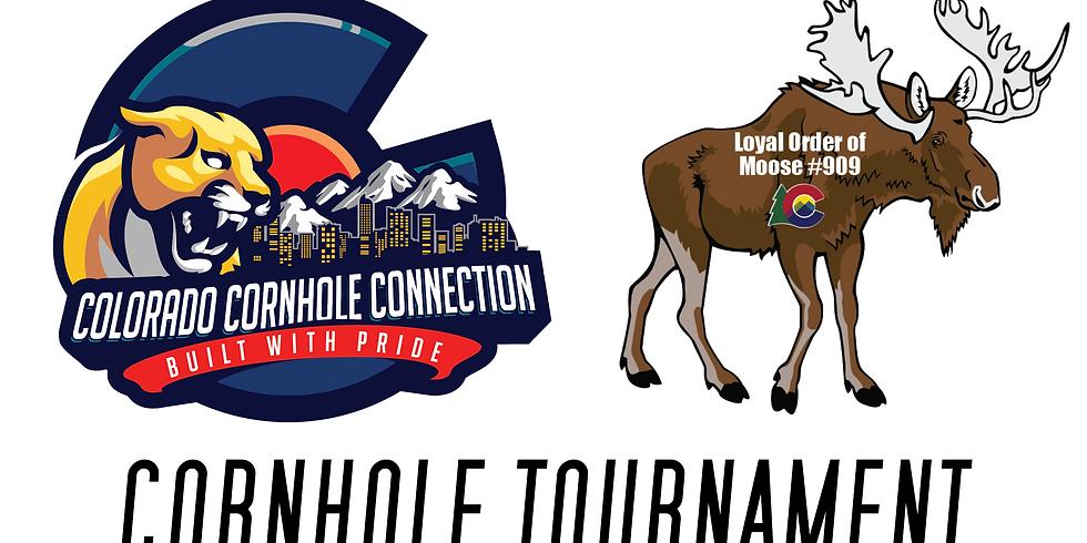 Moose Lodge Reopening Cornhole Tournament