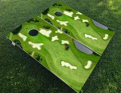 Golf Course Cornhole Boards