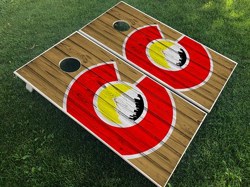 Big C Plank Cornhole Boards