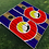 Thumbnail: Stripe Big C Cornhole Boards