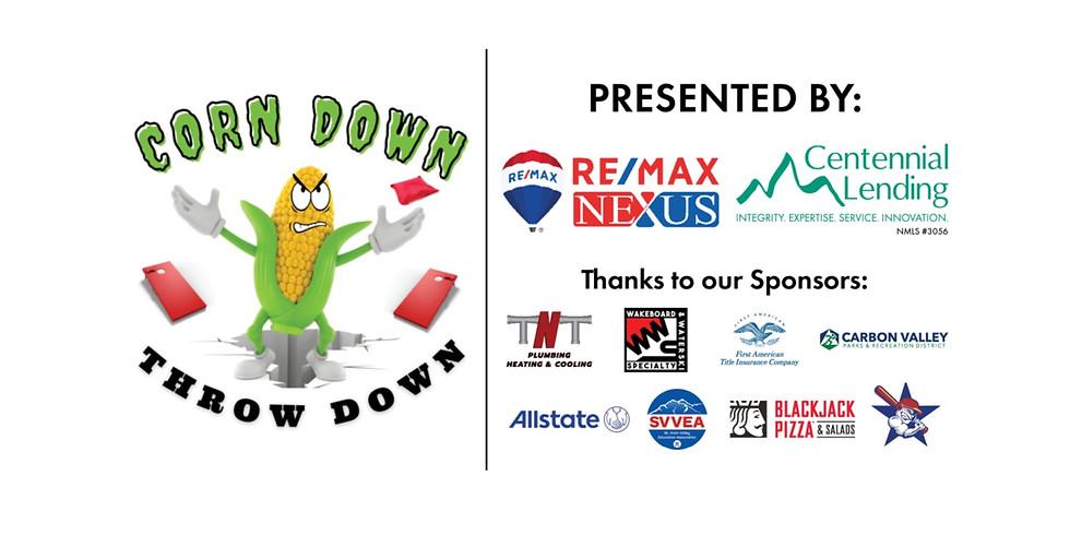 Corn Down Throw Down Cornhole Tournament