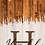 Thumbnail: Rustic Lantern Wedding Monogram Cornhole Boards