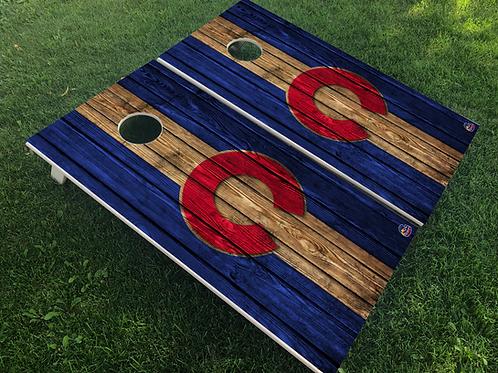 Colorado C  Cornhole Boards
